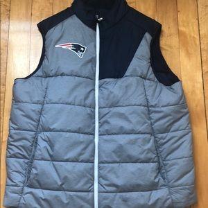 Nike New England Patriots Bubble Vest